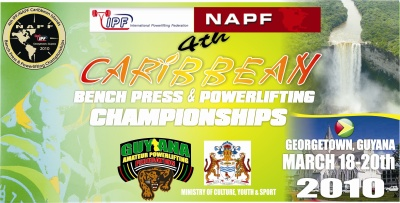 2010 Caribbean Bench Press & Powerlifting Championships Logo